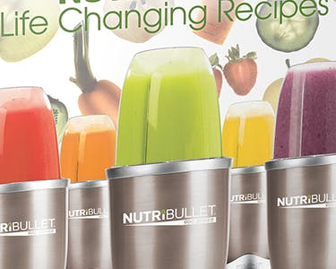 NutriBullet Pro Life Changing Recipes Book