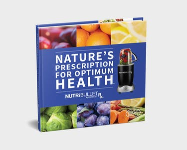 NutriBullet Rx Natures Prescription for Optimal Health Book