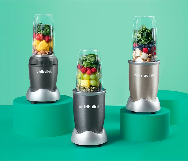 Perfectly portioned. Personal blenders for grab-and-go convenience at your fingertips.