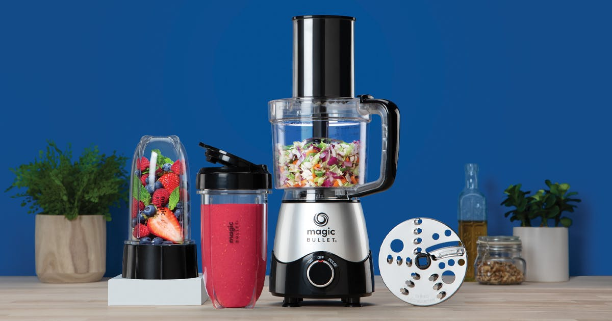 Magic Bullet Kitchen Express - Blender Food Processor Combo