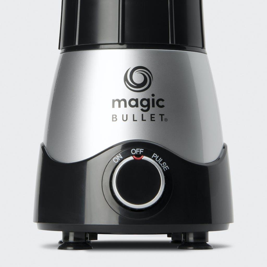 close up of magic bullet motor base
