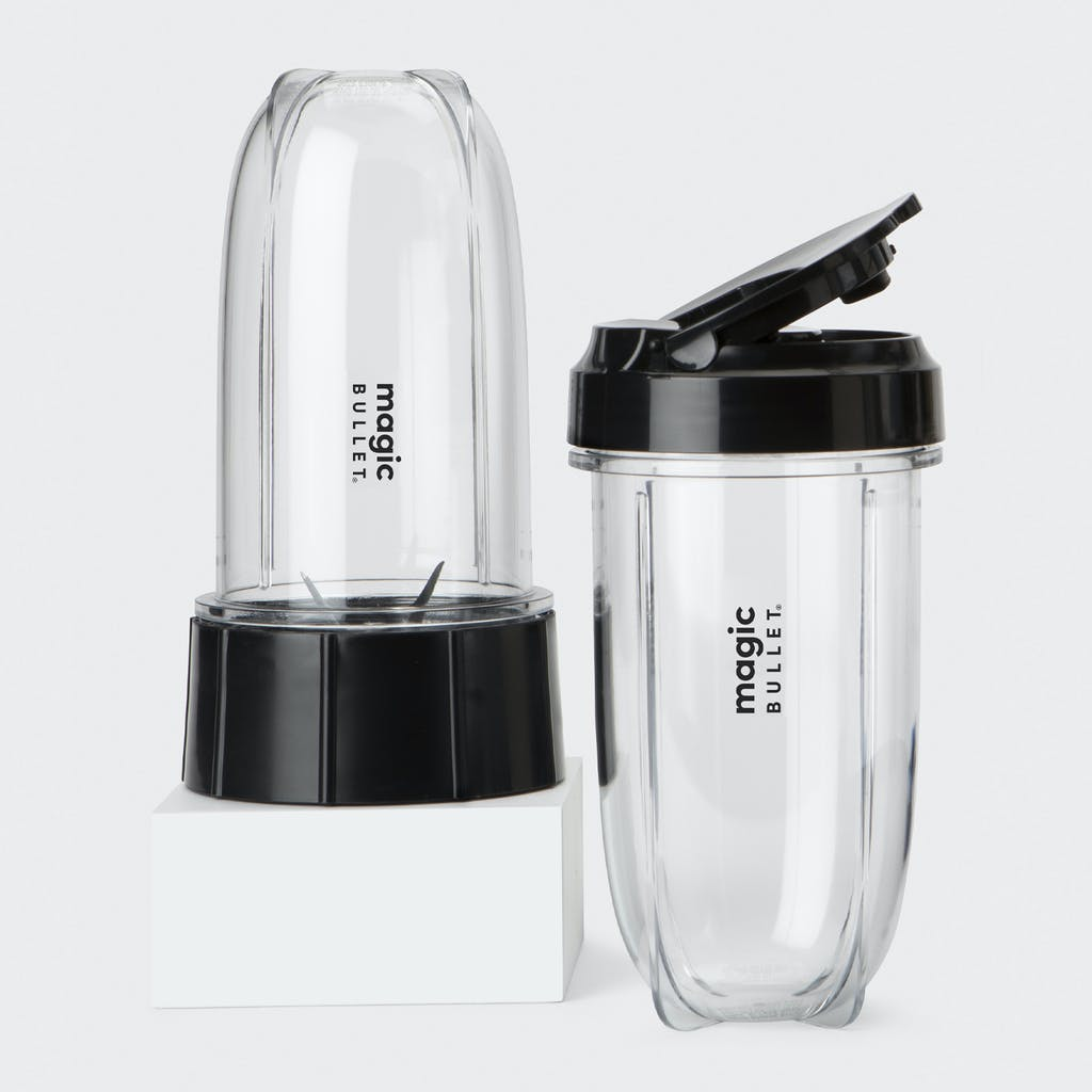 magic bullet cup with blade and lid attachments