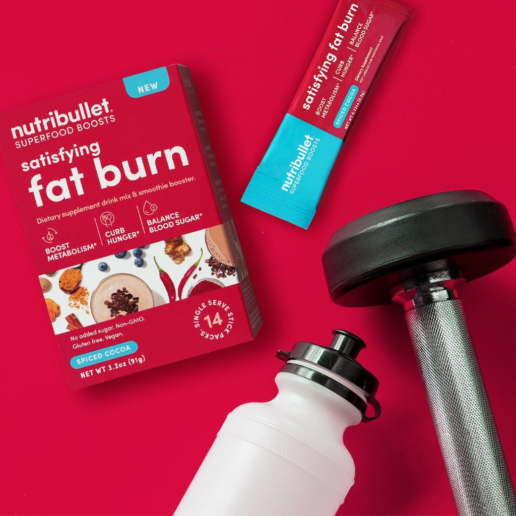 NutriBullet satisfying fat burn superfood boost