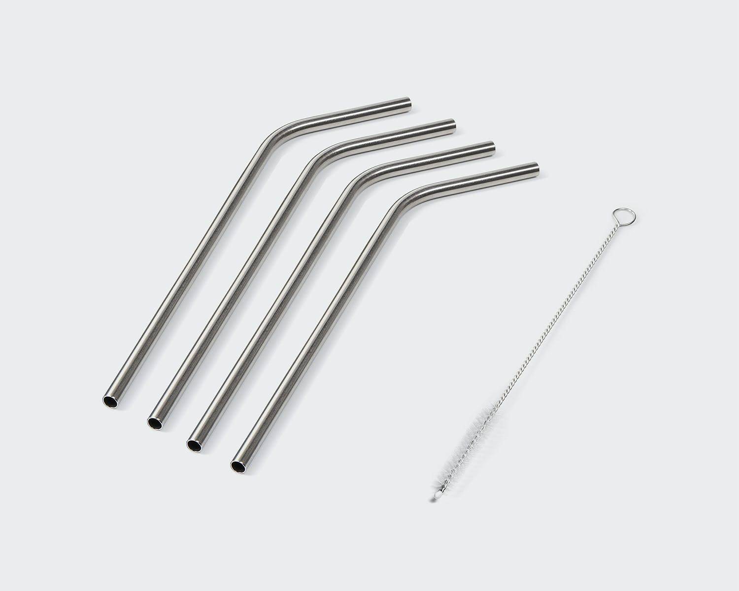 NutriBullet 4-Pack Stainless Steel Straws