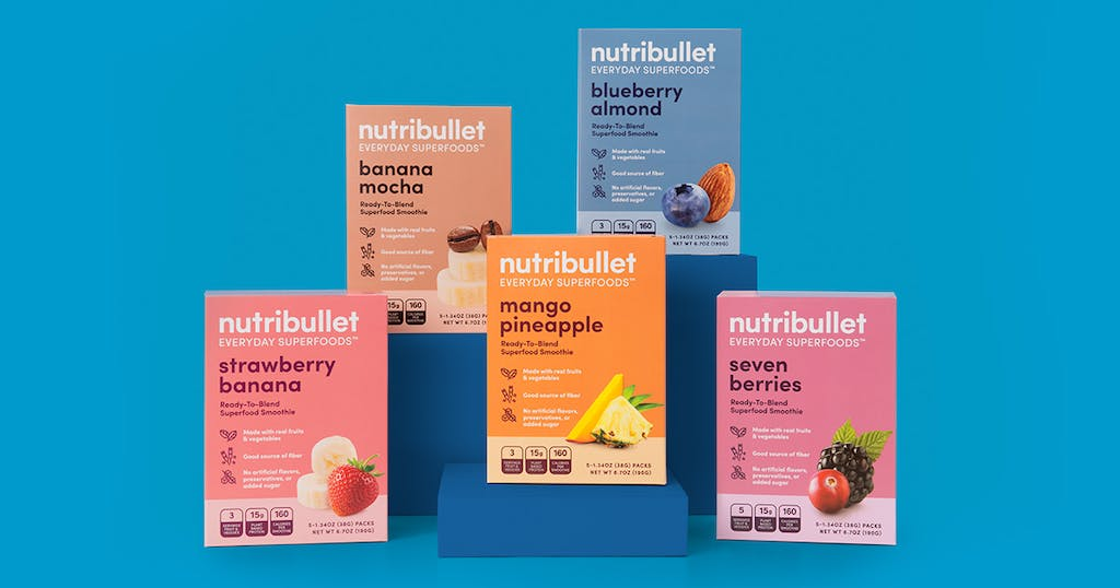 NutriBullet ready blends supplement all flavors