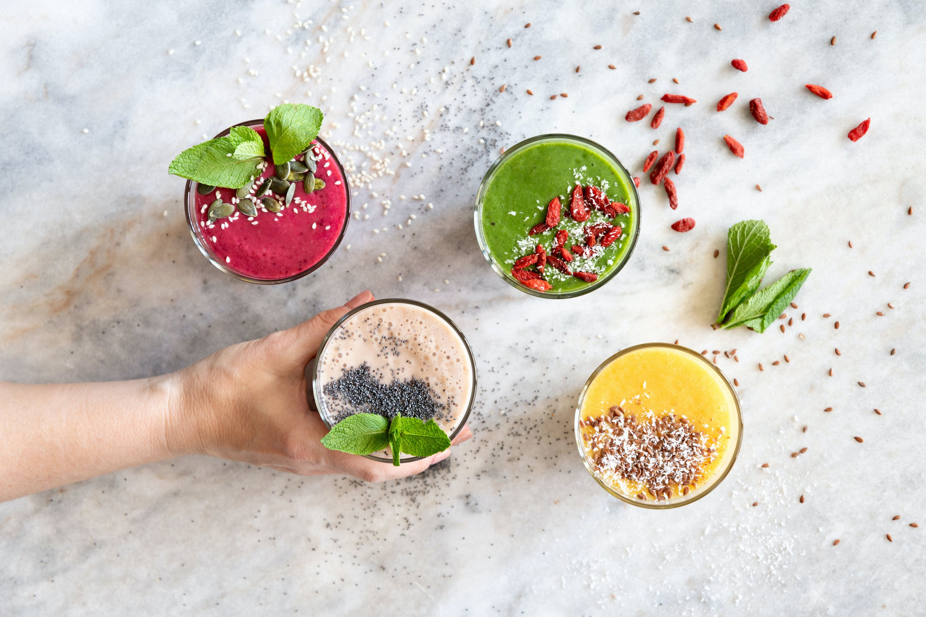 Top 10 Essential Smoothies for Beginners