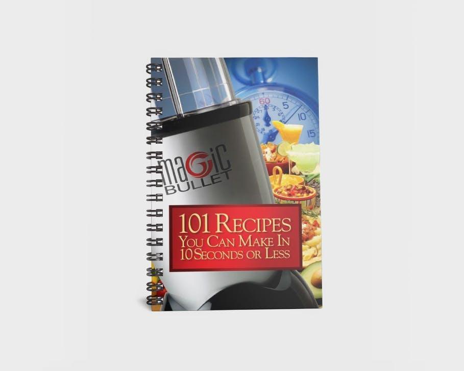 Magic Bullet 101 Recipes Cookbook