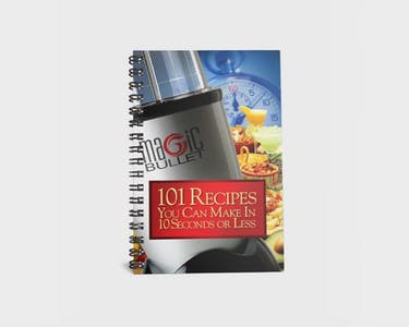 Magic Bullet 101 Recipes Cookbook