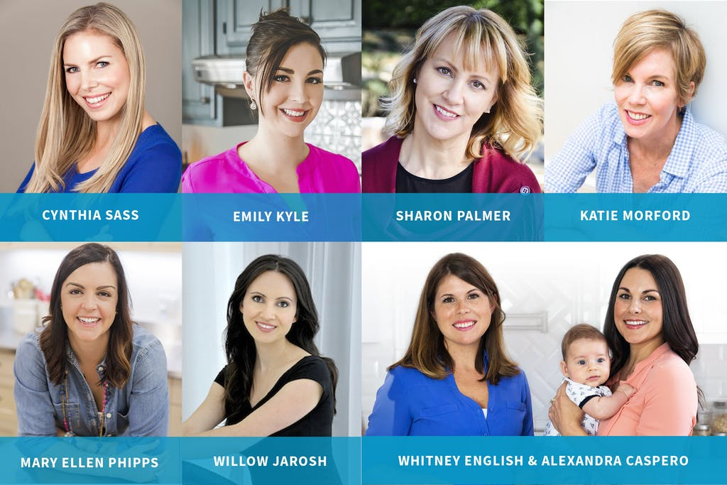 portraits of the leading dietitians and their nutrition advice